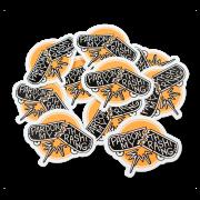 pardon-my-thrashing-sticker-pile
