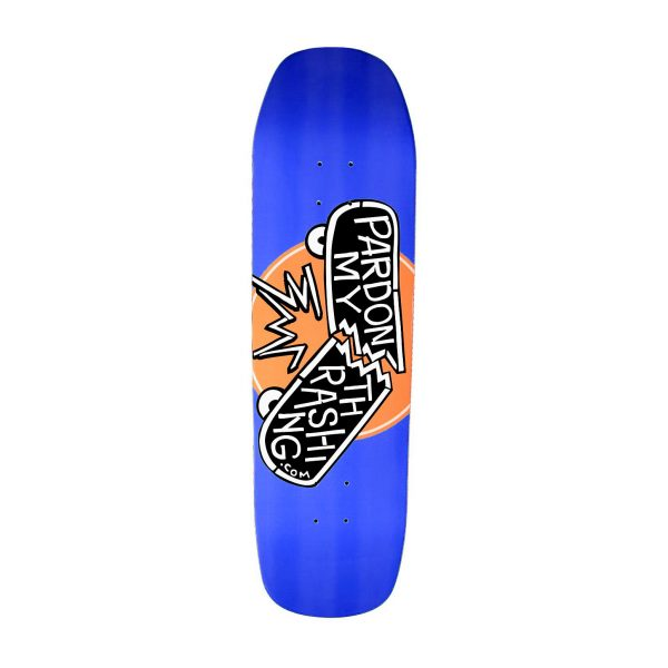 Pardon My Thrashing Limited Edition Blue Custom Shape