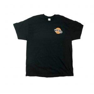 Pardon My Thrashing Logo1 Shirt Front Black