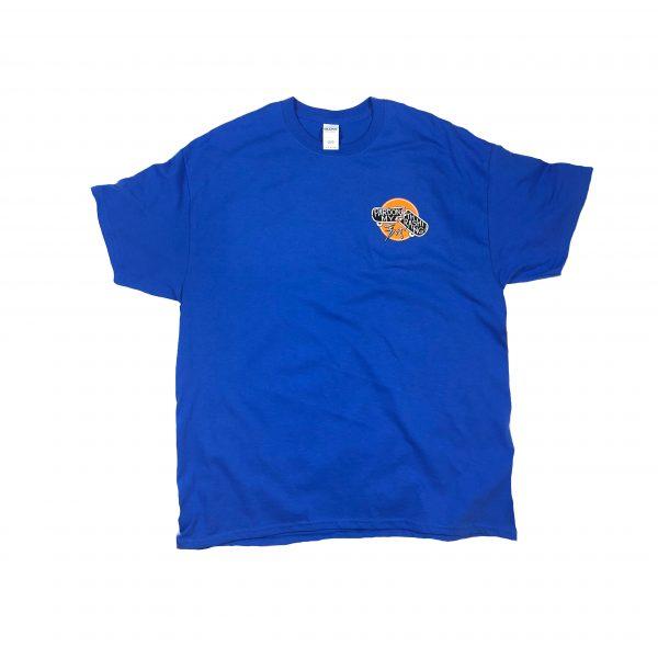 Pardon My Thrashing Logo1 Shirt Front Blue
