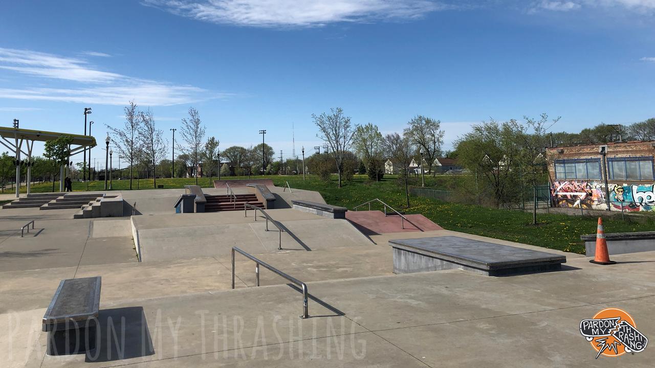 LV2 Skate Park Looking North
