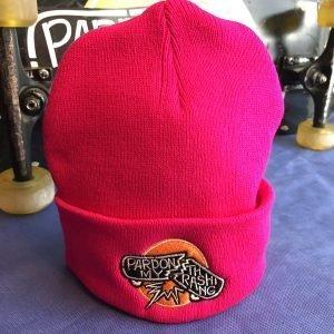 Bold Pink Beanie