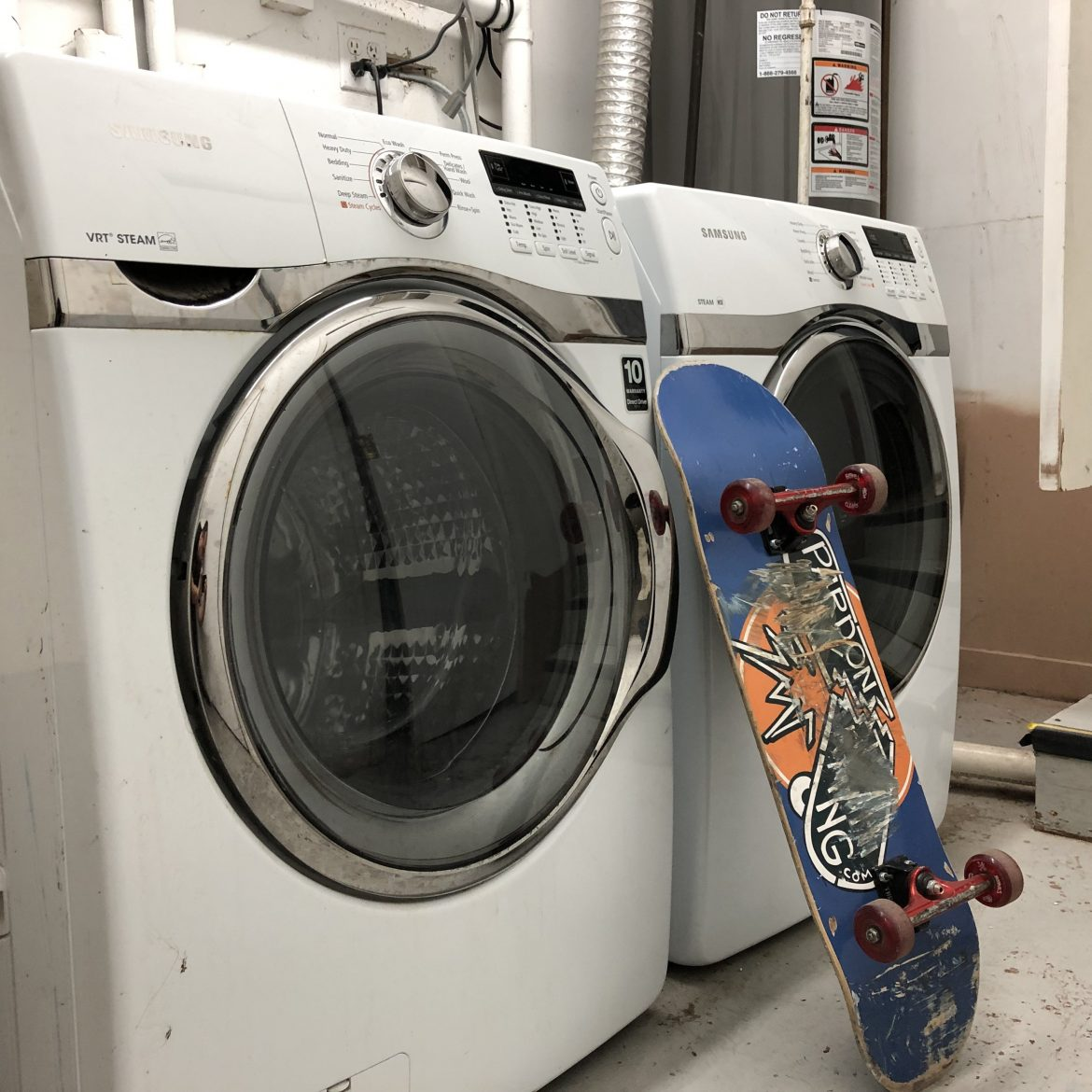 Skate Bunker Laundry Room