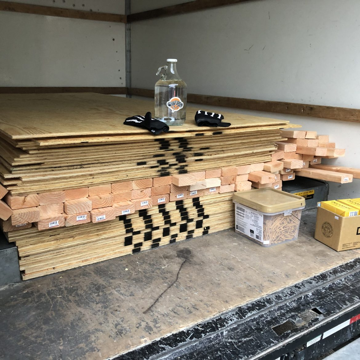 Wood delivery