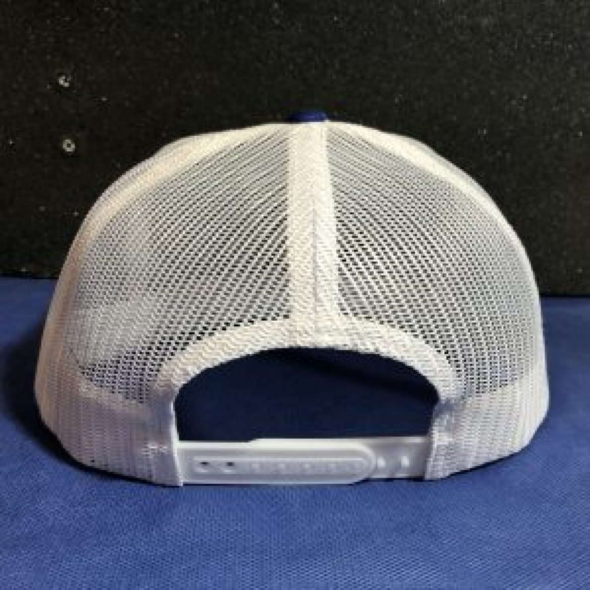 Blue N White Trucker Hat